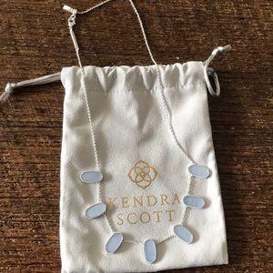 Kendra Scott Meadow Collar Sky Blue Illusion